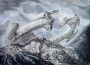Wreck- 70 × 100 cm - Silkscreen / 1978