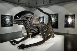 Necronom (Alien III Monster) - 110 x 78 x 220 cm - Polyester & METAL / 2005